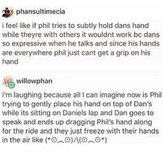 YouTube  Tumblr  Danisnotonfire  Amazingphil  Danandphilgames  Phan