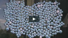 Interactive projection mapping art installation at Billy Blue College of Design, located in Brisbane, Queensland Australia. The large eyeball installation tracks…