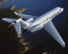 Impresionante avión privado Gulftream G250    #gulfstream