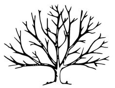 Landscape Painting Tree Painting Brown paintings White artwork Huge Wall art Canvas Paintings paintings on canvas Large painting JerryTitan Tree Clipart, Tree Svg, Clipart Images, Silhouette Clip Art, Tree Silhouette, Leaf Coloring Page, Coloring Pages, Cadre Photo Simple, Tree Outline