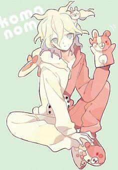 *le gasp* Nagito... is dressed like Monomi... HOLY JESUS! IT'S SO KAWAII~~!!!
