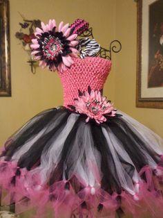 Should we wear zebra tutus? Sooo cute!!