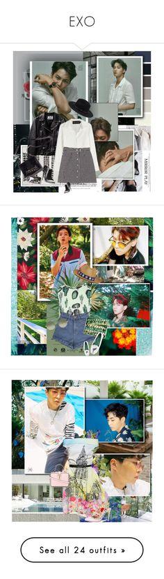 """EXO"" by janjanzira-1 ❤ liked on Polyvore featuring Emma Watson, Brandon Maxwell, Giorgio Armani, Mulberry, Forever 21, Starskin, Motel, My Bob, Blue Bird and Linda Farrow"
