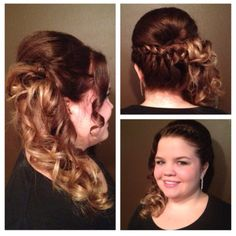 ombre and a side style