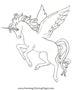 Looking for a Coloring Pages Unicorn Pegasus. We have Coloring Pages Unicorn Pegasus and the other about Coloring Page Fun it free. Horse Coloring Pages, Unicorn Coloring Pages, Printable Adult Coloring Pages, Coloring Pages To Print, Colouring Pages, Free Coloring, Coloring Pages For Kids, Coloring Books, Unicorn Wings