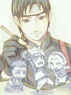 Sai Yamato Naruto & Sakura