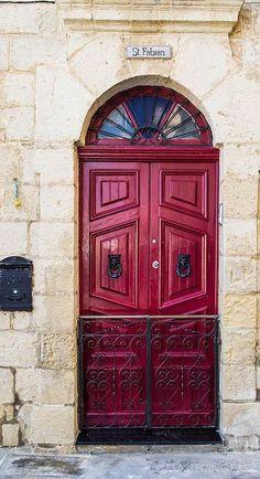 malta doors   Red Door - Malta / Malta Direct will help you plan your getaway www ...
