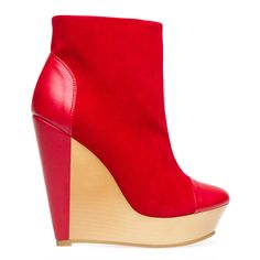 Red and Neutral Blocked Wedge