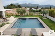 Une piscine Piscinelle installée à Aubagne.