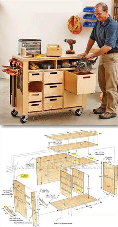 Tool Cabinet Plans - Workshop Solutions Plans, Tips and Tricks | WoodArchivist.com