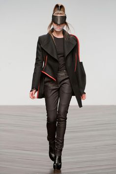 Futuristic Fashion, Haizhen Wang. Love the jacket