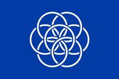 The flag of the Earth Maapallon lippu