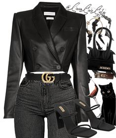 Discover outfit ideas for made with the shoplook outfit maker. How to wear ideas for Leather belt with Double and wine Boujee Outfits, Kpop Fashion Outfits, Stage Outfits, Retro Outfits, Cute Casual Outfits, Polyvore Outfits, Stylish Outfits, Workwear Fashion, Fashion Blogs