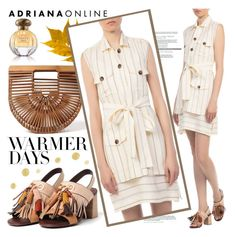 """ADRIANA ONLINE: Warmer Days"" by adrianaonline ❤ liked on Polyvore"