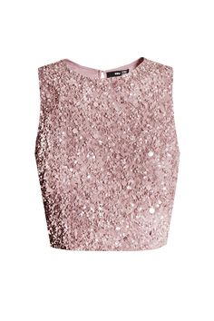 Discount Prices Fashionable Pink sequins-embellished top N°21 Ni84Clg2c