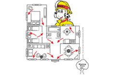 31 Best Fire Escape Planning images   Fire escape, Escape ... Home Fire Safety Evacuation Plan on home fire safety tips, home fire evacuation plan resource, domestic violence safety plan, home disaster plan, home fire safety plan sample, family fire safety plan, fire prevention plan,