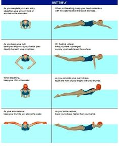 Freestyle and Breaststroke