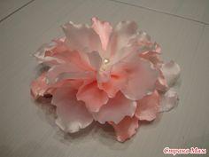 Пробую разные цветочки-бабочки сделать - Канзаши - Страна Мам