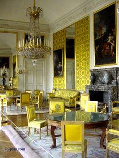 Interior del peque o trianon del palacio de versalles for Salon de versailles 2016