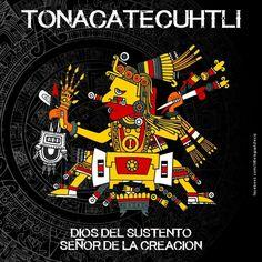 Tonacatecuhtli, dios del sustento señor de la creacion