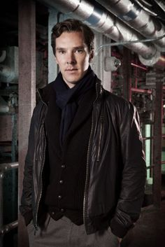 Oh, yes, Benedict as Islington in the upcoming radio play, Neil Gaiman's Neverwhere with James McAvoy as Richard Mayhew