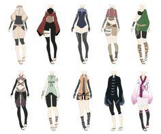 Vêtements de ninja féminin #1