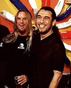 jeff & tom Heavy Metal Music, Heavy Metal Bands, Jeff Hanneman, Reign In Blood, Kerry King, Best Music Artists, Jazz Band, Thrash Metal, Death Metal
