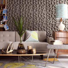 Hive Wall Flats ////// www.inhabitliving.com /////// 3D Decorative Wall Panels and Tiles   Dimensional Wall Decor and Covering /////// #texturedwalls #3Dwalls #modernwalls #dimensionalwalls #beautifulwalls