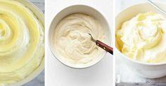 3 luxusní krémy pro dorty, cupcaky a muffiny1