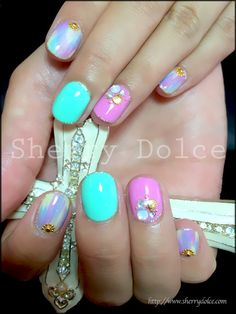 Summer nails #nail #nails #nailart