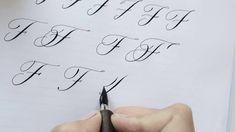 Modern Calligraphy Letter G