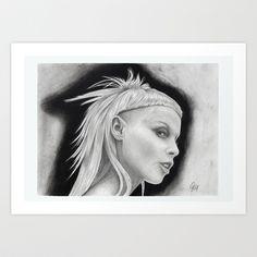 Yolandi Visser, Zef Side  Art Print by Art By Warren - $16.00