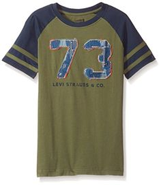 77aab6117a017  5.31 -  16.99 Levi s Boys  Graphic Ringer T-Shirt