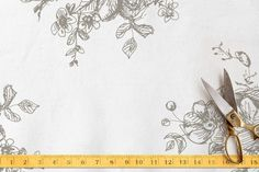 Ellegance Illustrated Toile by Phrosne Ras at minted.com