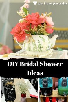 These DIY Bridal Shower Ideas will help you plan an awesome party. Themes, favors, decorations, who to invite, venues, and invitations.