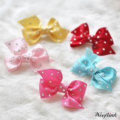 Wooflink Candy Hair Bow Candy Hair, Designer Dog Clothes, Bow Accessories, Dog Carrier, Dog Bows, Hair Art, Dog Design, Pet Toys, Hair Bows