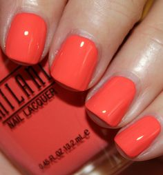 Milani - Colorful Coral (Gold Label Specialty Nail Lacquer Collection Spring 2014) / VampyVarnish