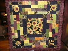 Sunflower quilt.