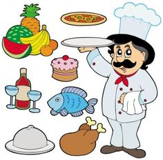 Chef cartoon characters Free vector for free download about (12 ...