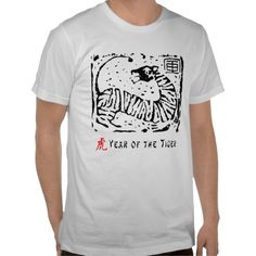 Chinese Year of The Tiger T-shirt
