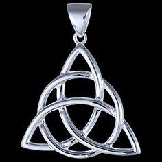Sterling silver pendant, celtic