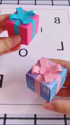 Paper Bag Crafts, Diy Paper, Paper Crafts Origami, Diy Crafts For Gifts, Creative Crafts, Fun Crafts, Diy Gifts Videos, Instruções Origami, Oragami