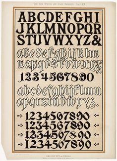 Hoy publicamos algunas imágenes del libroThe Sign Writer and Glass Embosser deWilliam & WG Sutherland -B007Q5PVM4-, publicado porDecorative Art Journals Company Limited en 1898. Una joya de libro con 62 páginas y que incluye en el original 32 placas cromolitografiadas-método para la fabricación multicolor de las impresiones-, en el bolsillo final del libro. En sus …