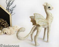 Guepardo Bastián por dadanoias en Etsy  #dadanoias #cheetah #handmade #felt #woolfelt #guepardo #muñeco #sculpture #fairytoy #magic #michaelende