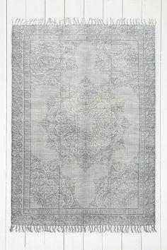 Tapis Tompkins délavé 5x7 ivoire