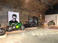 Garage Workshop Ideas and Garage Cabinets Irvine and Garage Loft, Garage Shop, Dream Garage, Car Garage, Motorcycle Store, Motorcycle Garage, Motorcycle Workshop, Garage Workshop Organization, Cool Garages