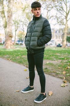 Snap Jacket - Khaki x Criminal Damage