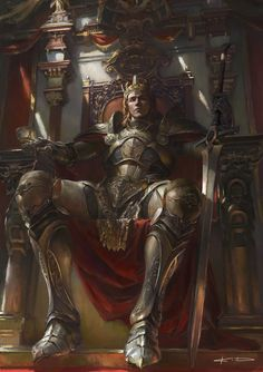 ArtStation - Prince of Arc (total graph), KD Stanton