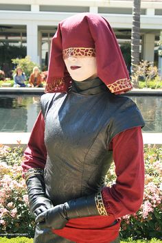 Visas Marr Cosplay - Knights of the Old Republic II (Star Wars). 501st Legion costume, SL-1613