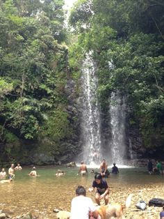 Tadake Falls Okinawa Japan. I wonder how far this is from Naha